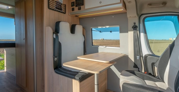 Woodvans handmade furgo